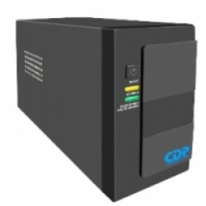 Sistema UPS CDP 750VA Modelo. G-UPR 756 Negro