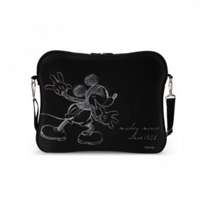 "Bolso Neopreno para Notebook DISNEY 15"" Mickey Negro"