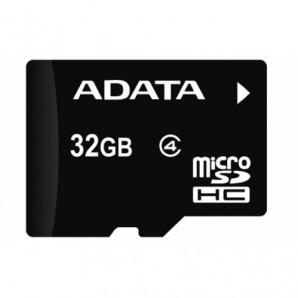 Memoria Micro Secure Digital ADATA 32GB con adaptador Clase 4