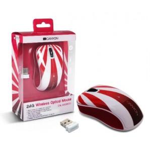 Mouse Optico Inalambrico CANYON USB 2.0
