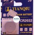 Bateria Pila 3V CR2032 Tianqiu x und