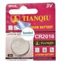 Bateria Pila 3V CR2016 Tianqiu x und